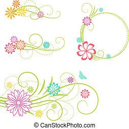 elements., kwiatowy zamiar