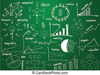 elementy, grafika, wykresy