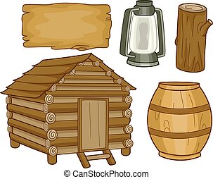 elementy, kabina
