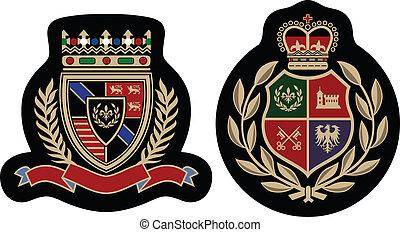 emblemat, fason, odznaka