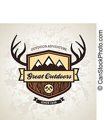 emblemat, outdoors