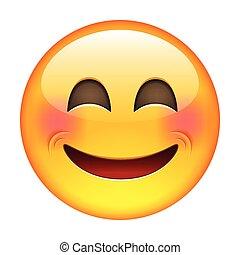 emoticon, uśmiech