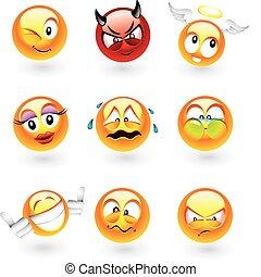 emoticons, różny