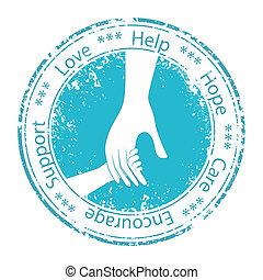 encouragement., poparcie, ojciec, ręka, dziecko, moral.