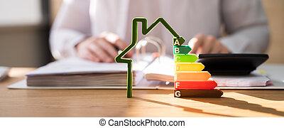 energia, dom, rewizja, gmach, skuteczny