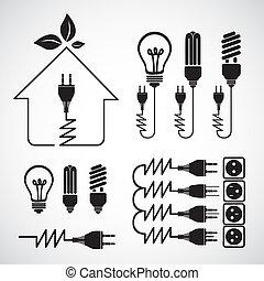 energia, ikony