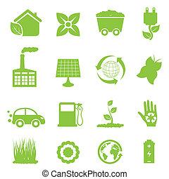 energia, recycling, czysty