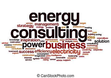 energia, słowo, ordynacyjny, chmura