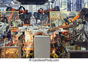 fabryka wozu, roboty