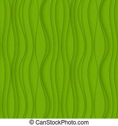 falisty, zielony, seamless, tło, texture.