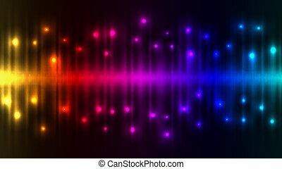 farbować światła, abstrakcyjny, tło.
