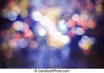 farbować światła, abstrakcyjny, tło, zamazany