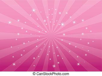 farbować tło, różowy, lekki