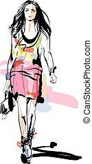 fason, sketch., models.