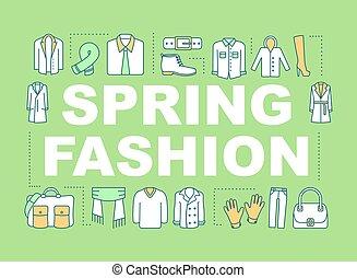 fason, wiosna, pojęcia, słowo, chorągiew