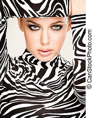 fason, zebra