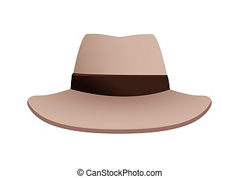 fedora kapelusz, elegancki