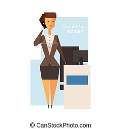 figura, kobieta, abstrakcyjny, handlowy