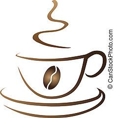 filiżanka do kawy, symboliczny