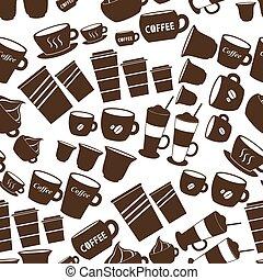 filiżanki, kawa, variatio, frajerzy, sortuje