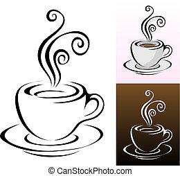 filiżanki kawy