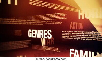 film, genres, powinowaty, słówko, pętla