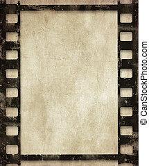 film, tło, grunge