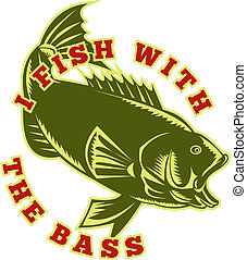 fish, largemouth bas, skokowy