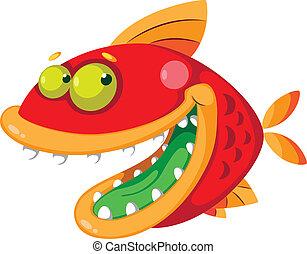 fish, pomylony
