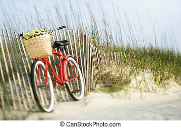 flowers., rower