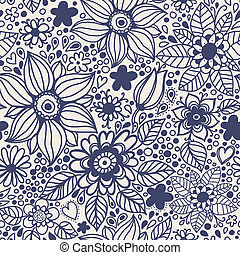flowers., seamless, struktura