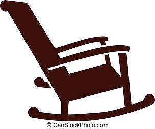 fotel bujany, ikona