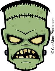 frankenstein, potwór