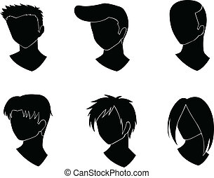 fryzura, projektować