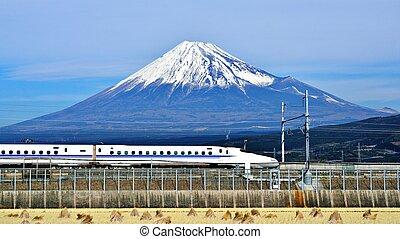 fuji, pociąg