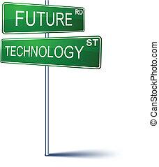 future-technology, poznaczcie., kierunek