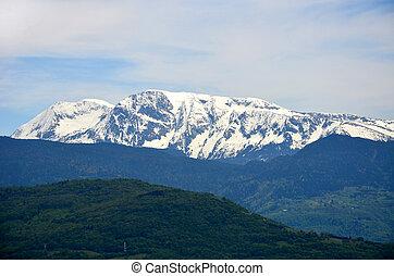 góra, france., prospekt, alps-europe, grenoble