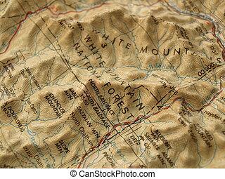 góra, mapa