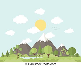 góra, natura