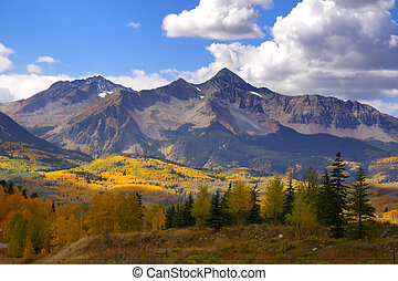 góra, skalisty, szpice