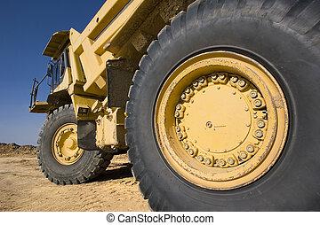 górnictwo samochód