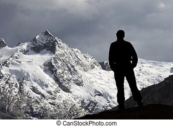 górski człowiek
