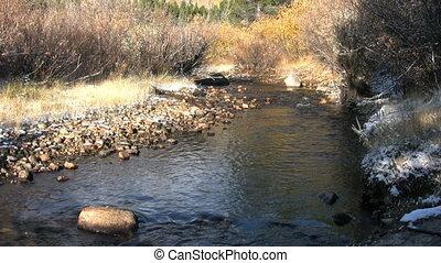 górski potok, upadek