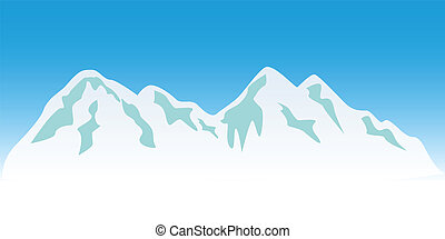 górskie daszki, śnieżny