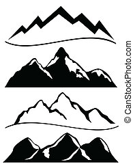 góry, różny