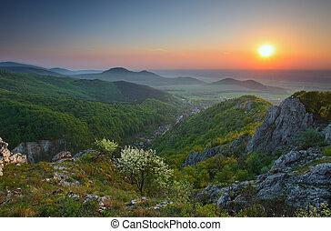 góry, skalisty, krajobraz