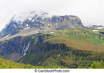 góry, wodospady