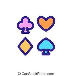 garnitur, kontur, vector., ilustracja, bilety, symbol, odizolowany, ikona