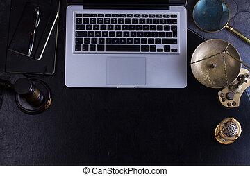 gavel, chodnikowiec, prawo, bohater, workspace