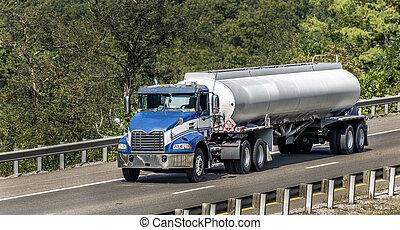 gaz, międzystanowy, wózek, zbiornikowiec